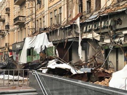 Ранок у Києві після нічної негоди (фото)