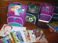 «Скоро до школи»: луцьким дітям учасників АТО вручили шкільні портфелі