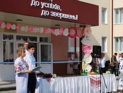 У Луцьку вперше за роки незалежності відкрили школу