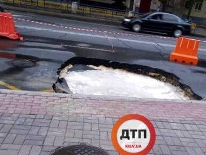 У Києві утворилося каналізаційне озеро