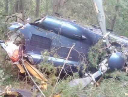 У Києві авіакатастрофа: розбився вертоліт