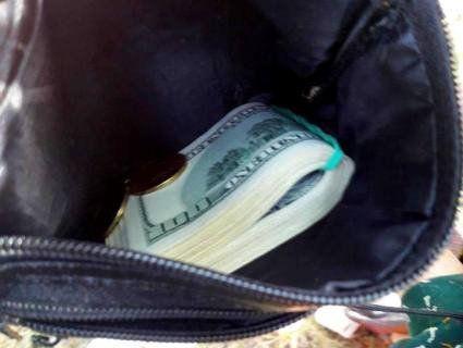 На Запоріжжі грабіжник викинув випатрану сумку, не помітивши в ній 6000 доларів