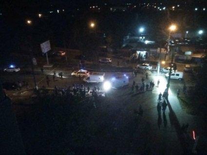 З'явилося відео з місця аварії у Чернівцях, де копи на службовому авто убили хлопця