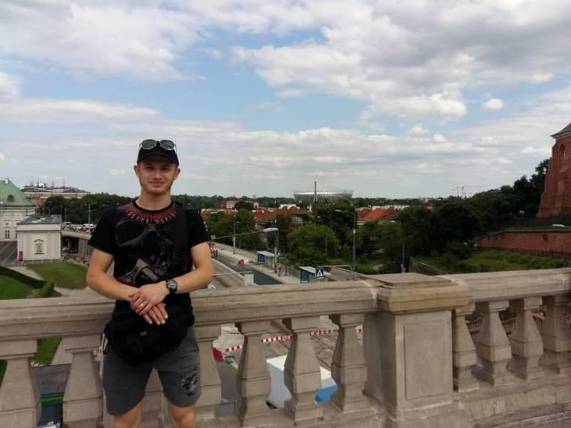 Боєць батальйону Азов Станіслав Романенко