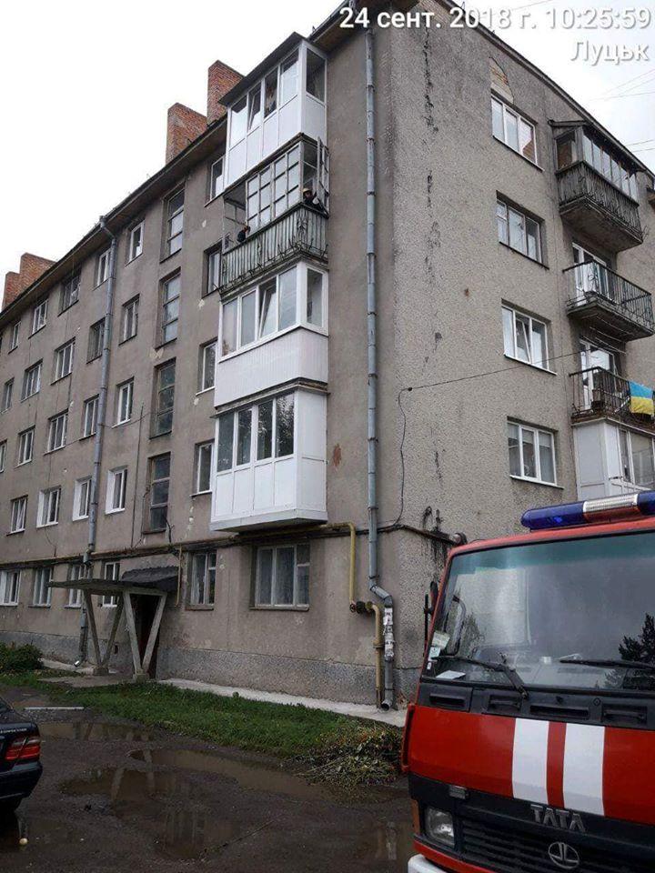 аварійний балкон