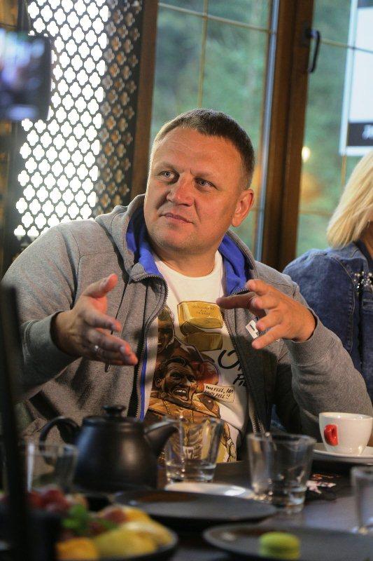 Олександр Шевченко на медіа-фестивалі Буковель Натхнення