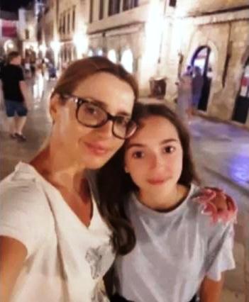Оксана Марченко з донькою