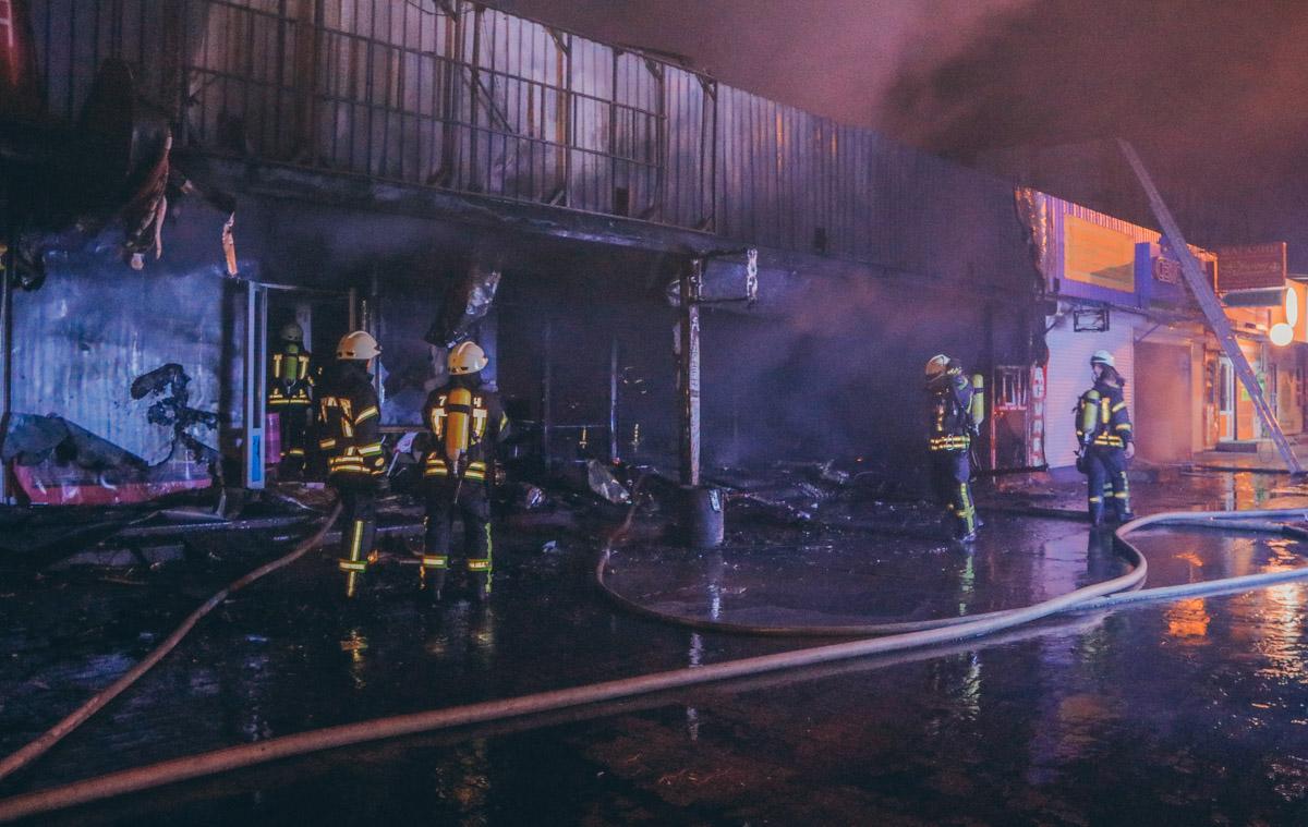 Ринок у Києві - пожежа 2