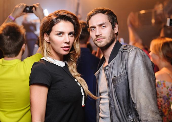 Українська співачка Анна Седокова та холостяк каналу СТБ Рожденом Анусі