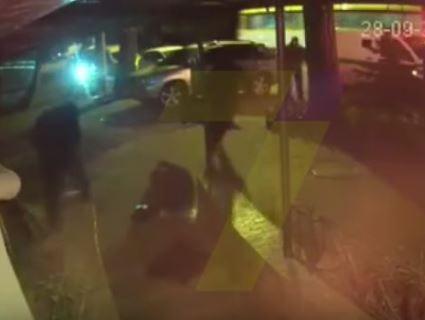 В Інтернет «залили» відео нападу на одеських інкасаторів