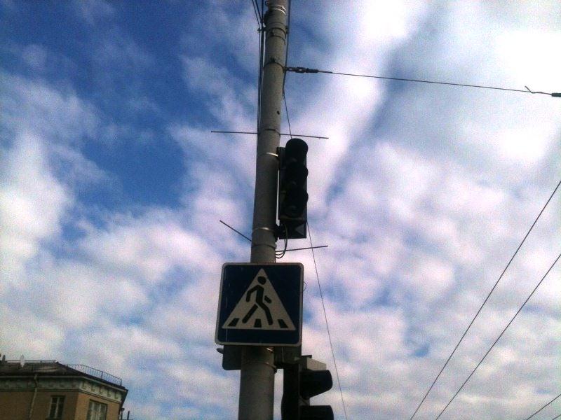 У Луцьку в центрі міста не працюють світлофори