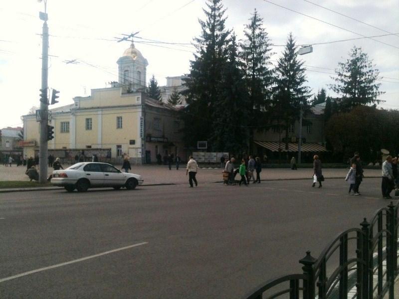 У Луцьку в центрі міста не працюють світлофори фото 2