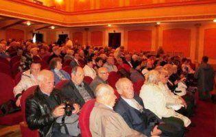 У Луцьку відбувся святковий концерт для людей похилого віку (фото)