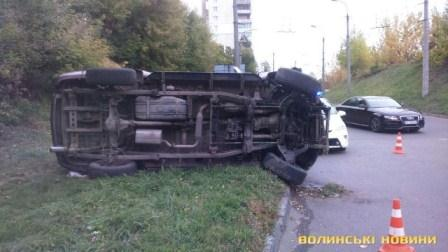 ДТП у Луцьку 03.10.2018 фото 1