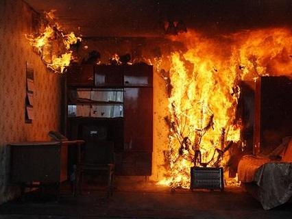 Пожежа в обласному центрі Волині: чоловік згорів живцем