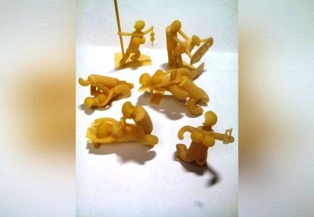 Еротичні пози Камасутри з макаронних виробів фото 1