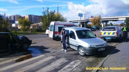 ДТП у Луцьку 04.10.2018 фото 2