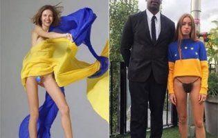 Український прапор та сучасна мода