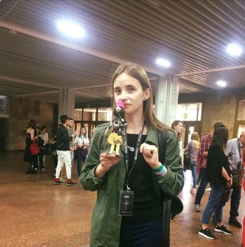 Майстриня-лялькарка з Луцька Іванка Морем