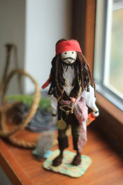 Лялька від майстрині з Луцька Іванки Морем