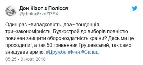 Реакції соцмереж на вибух боєприпасів поблизу Ічні Чернігівської області 09.10.2018 фото 5