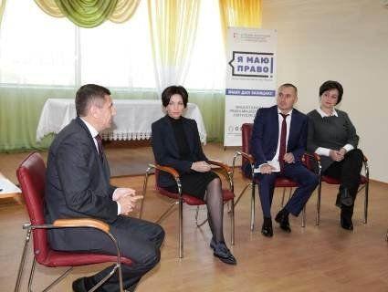 Заступник міністра юстиції України надавала правову допомогу у волинських ОТГ
