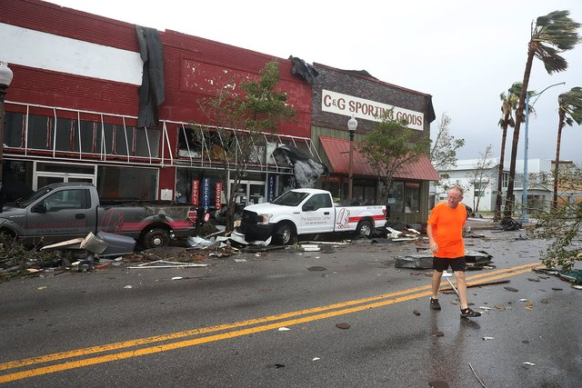США Флорида ураган Майкл