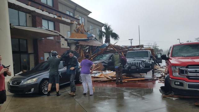 США Флорида ураган Майкл фото 1