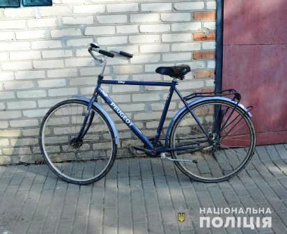 Крадіжка велосипеда у селі Зміїнець