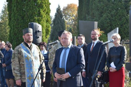 Вшанування загиблих в АТО в Луцьку