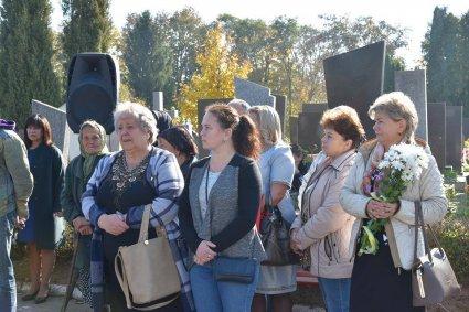 на вшануванні загиблих в АТО в Луцьку