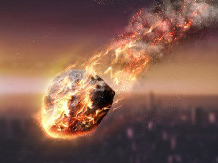В Японії на будівлю впав метеорит
