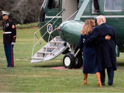 Меланія Трамп ледь не загинула в авіакатастрофі