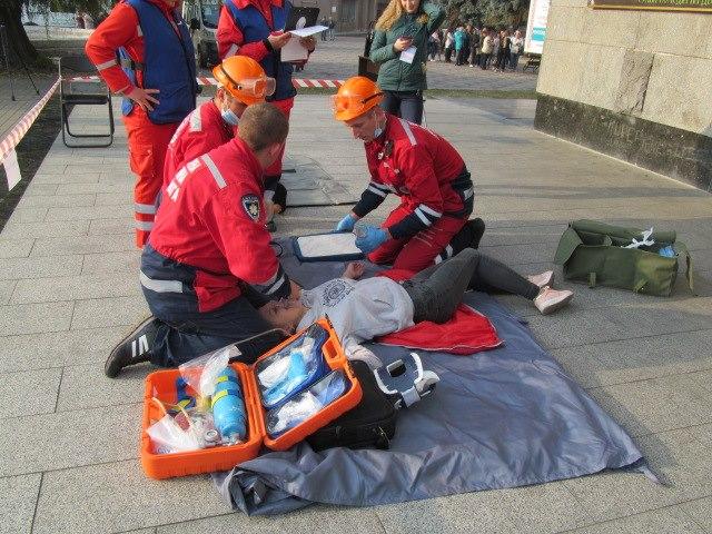 У Луцьку відбулися змагання бригад екстреної медичної допомоги