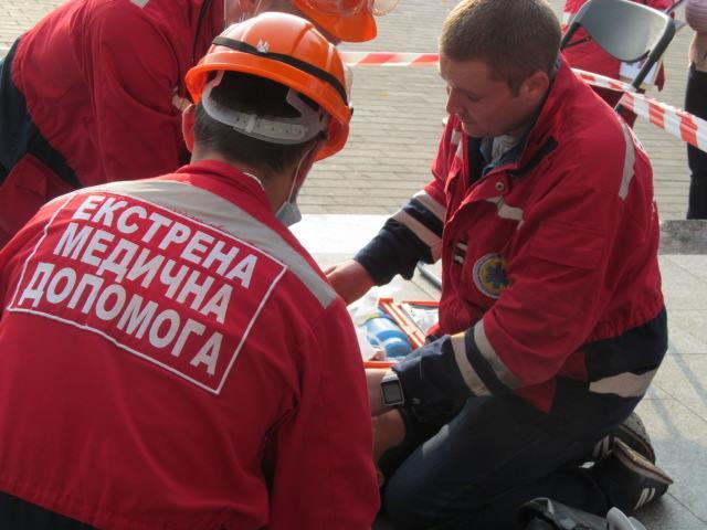 У Луцьку відбулися змагання бригад екстреної медичної допомоги фото 1