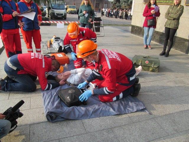 У Луцьку відбулися змагання бригад екстреної медичної допомоги фото 6