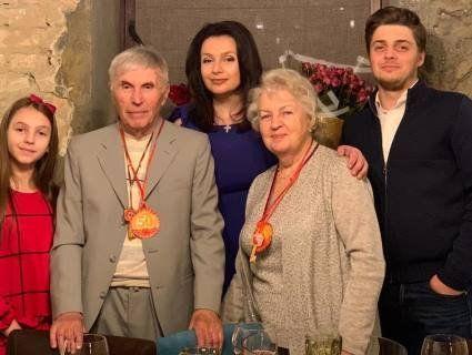 Батьки Тетяни Єремеєвої святкують золоте весілля