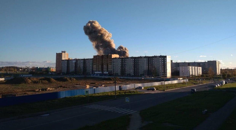 вибух на заводі піротехніки