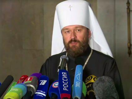 «Сам ти розкольник!»: Гундяєв визнав Вселенського патріарха розкольником