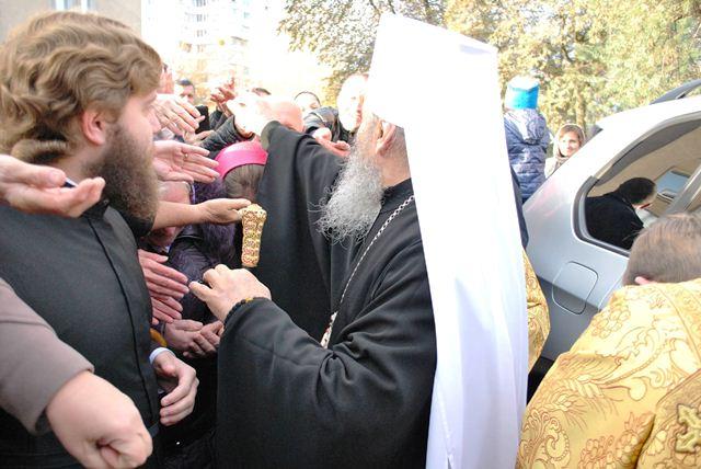 Візит Митрополита УПЦ Онуфрія у Луцьк фото 2
