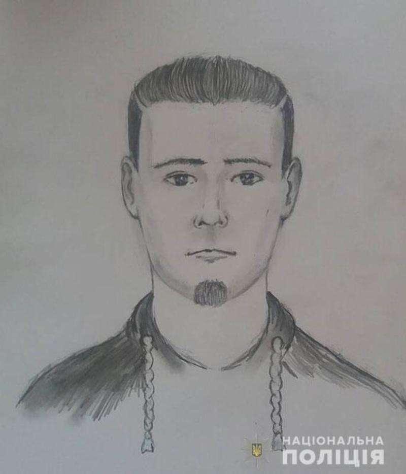 Фоторобот підозрюваного який зґвалтував 12-літню дитину у Миколаєві