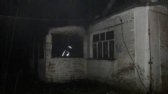 Пожежа Київська область