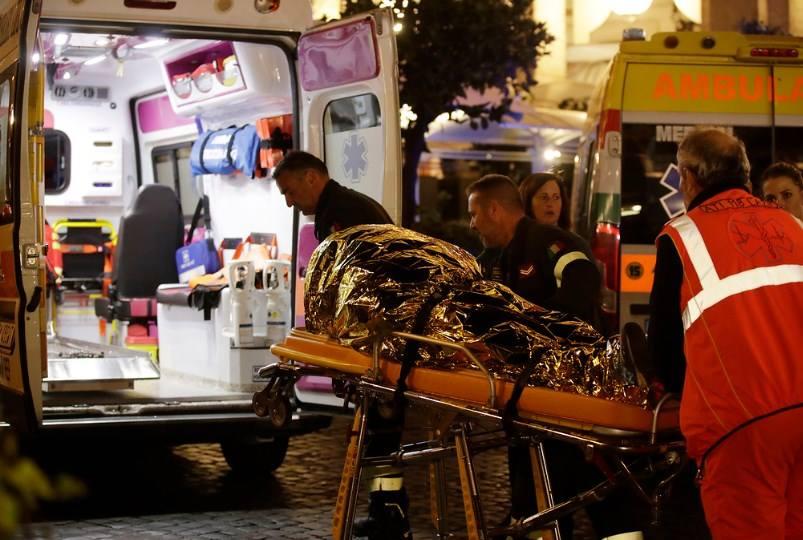 аварія в метро Рим