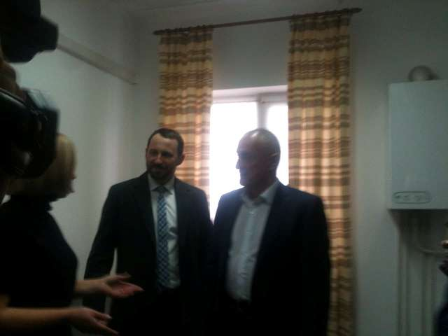 Олександр Савченко на відкритті Центру кризової допомоги бійцям АТО у Луцьку
