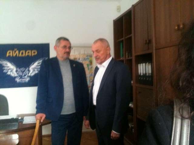 Олександр Савченко на відкритті Центру кризової допомоги бійцям АТО у Луцьку фото 1