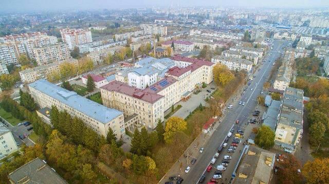 Сонячні батареї Волинська обласна клінічна лікарня фото 3