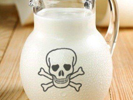 Українці споживають небезпечне молоко
