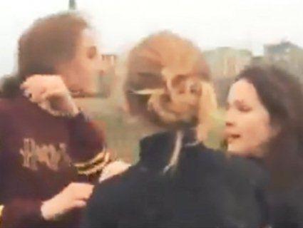На Рівненщині дівчата-підлітки влаштували криваве побоїще (відео)