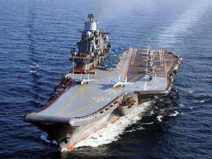 Росія втратила найбільший в світі плавучий док і мало не позбулась єдиного авіаносця