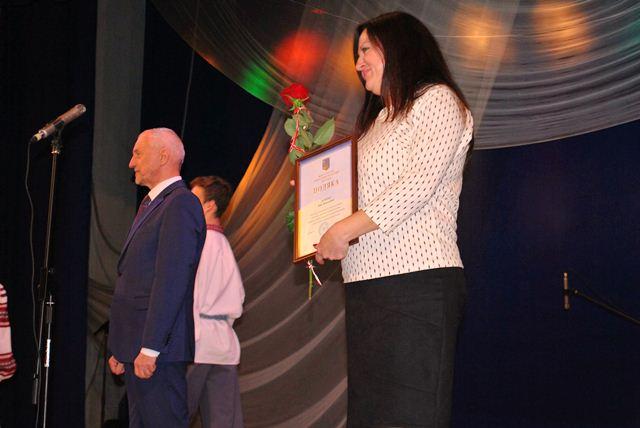 Нагородження працівників соціальної сфери у Палаці культури міста Луцька фото 2